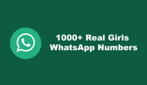 Girls WhatsApp Numbers