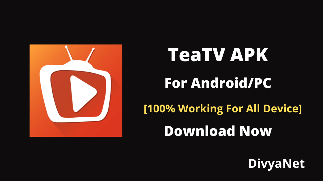 TeaTV APK 10.2.5r (100% Working For All Device)