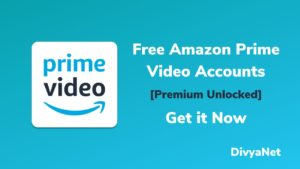 amazon prime video accounts