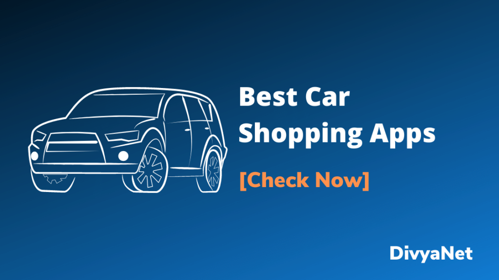 Car Shopping Apps