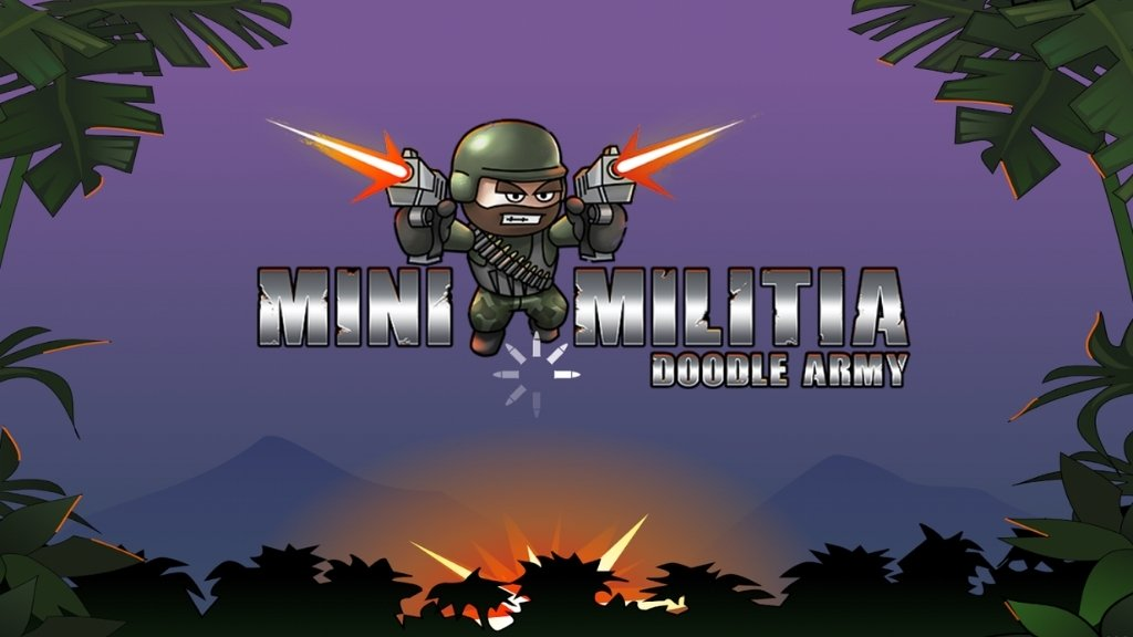 Doodle Army 2: Mini Militia (Pro Pack, All Unlimited)