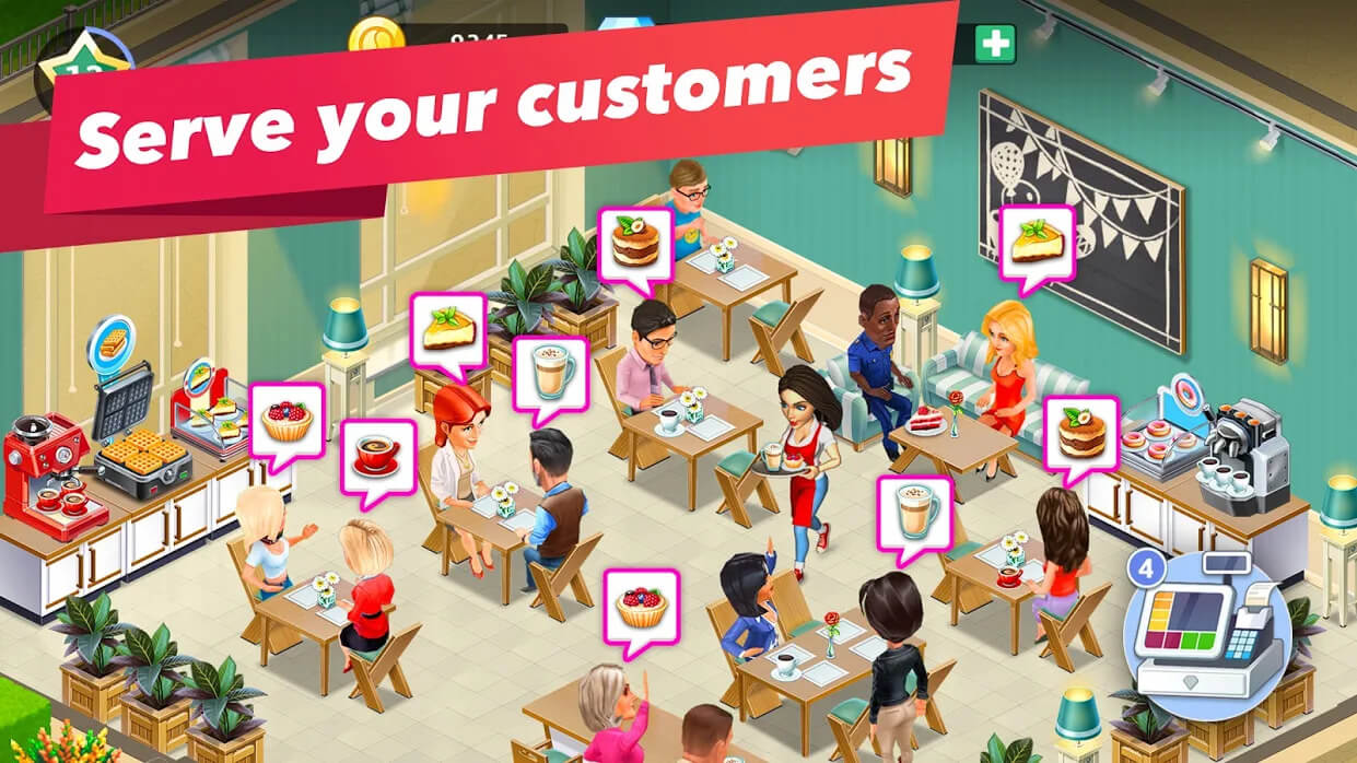 My Cafe — Restaurant Game (MOD, Free Purchase/VIP 7)