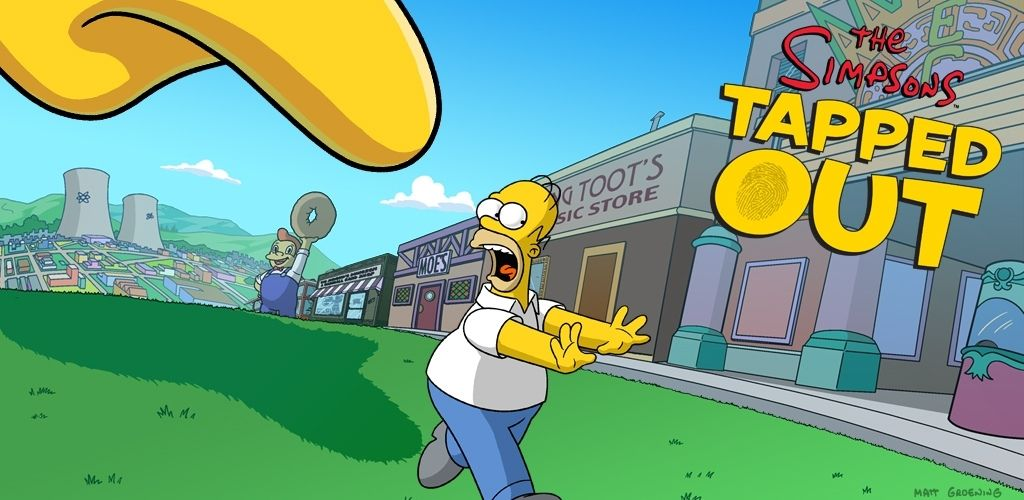 The Simpsons: Tapped Out MOD APK 4.51.5(Free Shopping)